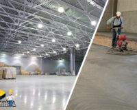 1. Reparacion de pisos de concreto industriales.